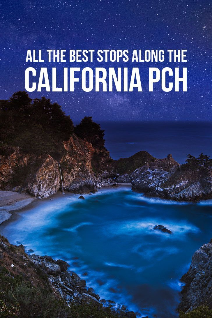 The Ultimate California Coast Road Trip - All the