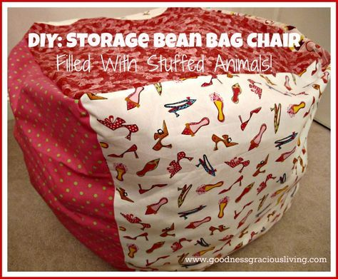 DIY Bean Bag Chair: A Place to Hide the Mess!