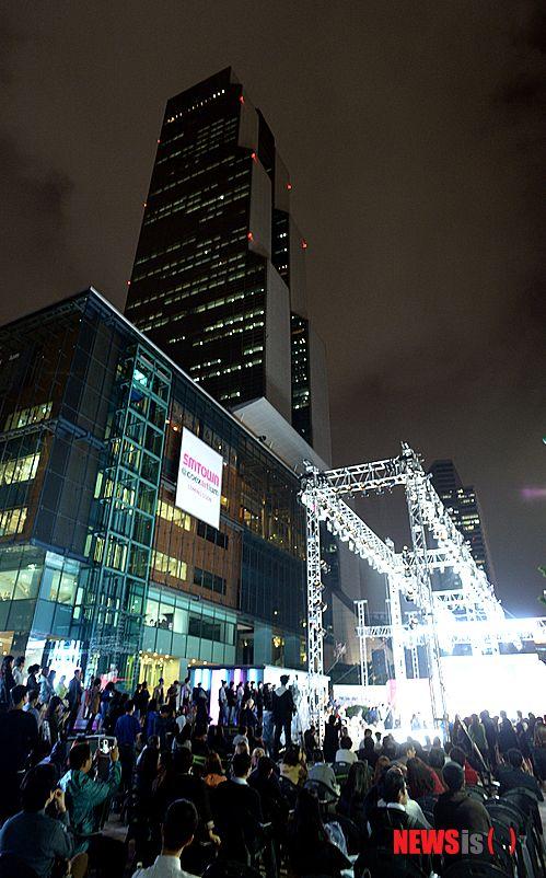 삼성동에서 열린 '2014 강남패션페스티벌'