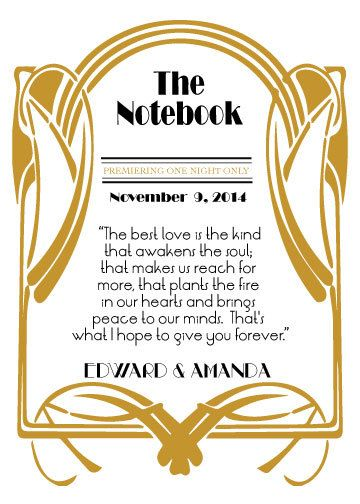 1920s old hollywood themed movie quotes by weddingmonograms wedding quotes picture description old hollywood themed movie quotes wedding table cards special events table numbers on etsy junglespirit Choice Image