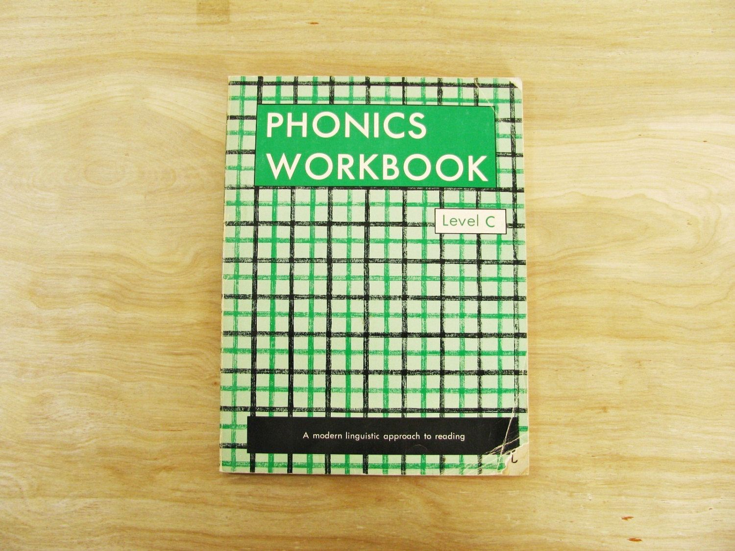 Vintage Children's Workbook Phonics Workbook Reading Workbook ...