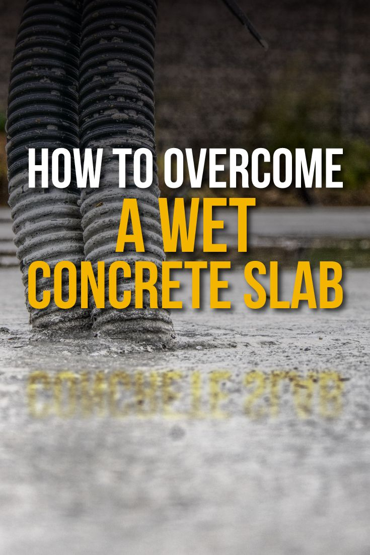 How to a Wet Concrete Slab Wagner Meters