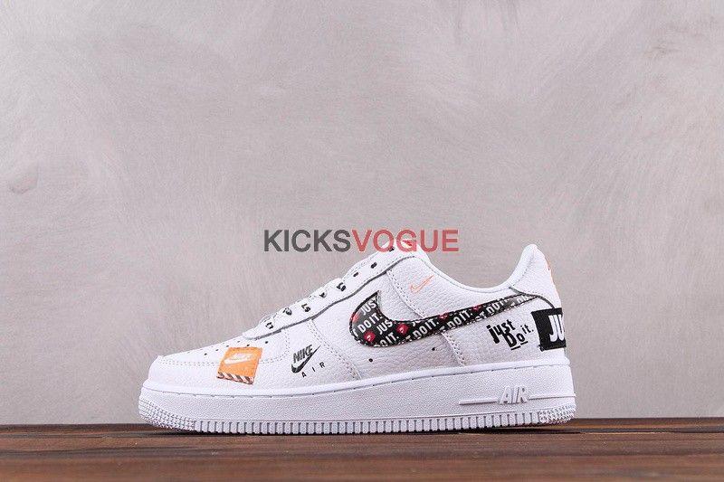 Nike Air Force 1 07 Premium Just Do It Pack White Nike Air Nike