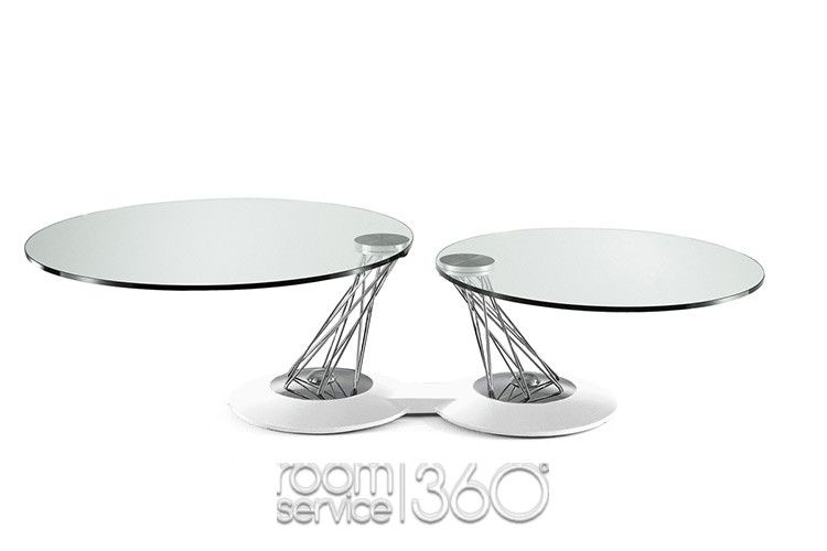 894189e4a916 Gemelli Swivel Coffee Table by Naos