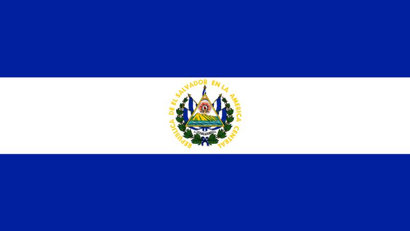 Bandera El Salvador El Salvador Flag Honduras Flag El Salvador