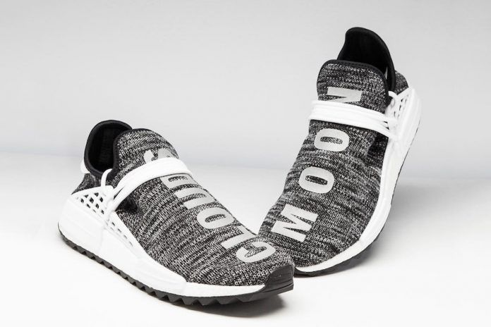 "10ddd9f6b PHARRELL S ADIDAS NMD HU TRAIL ""CLOUDS MOON"""