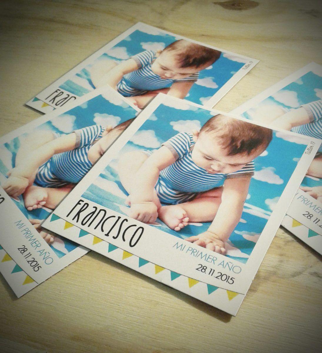 Souvenir Polaroid Foto Iman 24 Unid Cumpleaños Bautismo