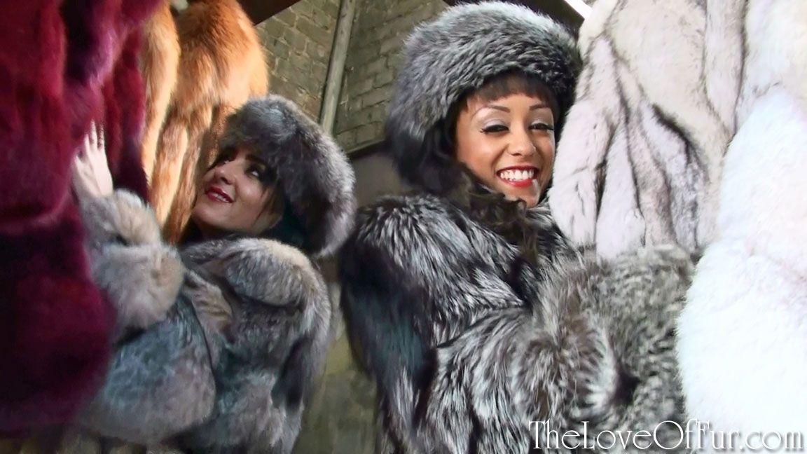 Fur Fetish Videos In Stately Service Starring Alyssa Divine And Chloe Lovette