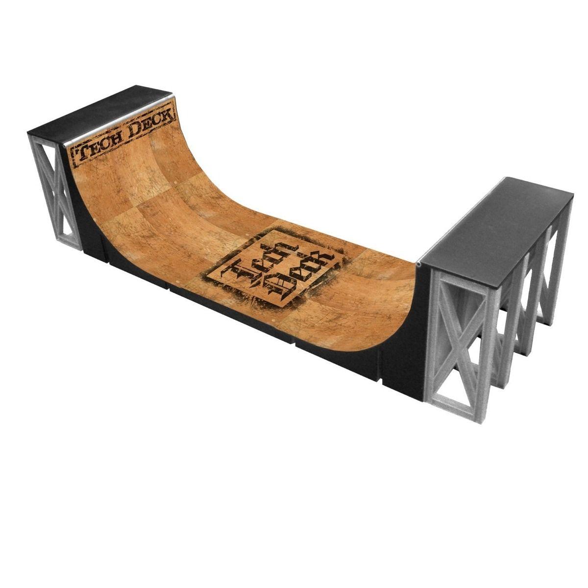 Tech Deck Halfpipe Miniramp Skateboard Ramp