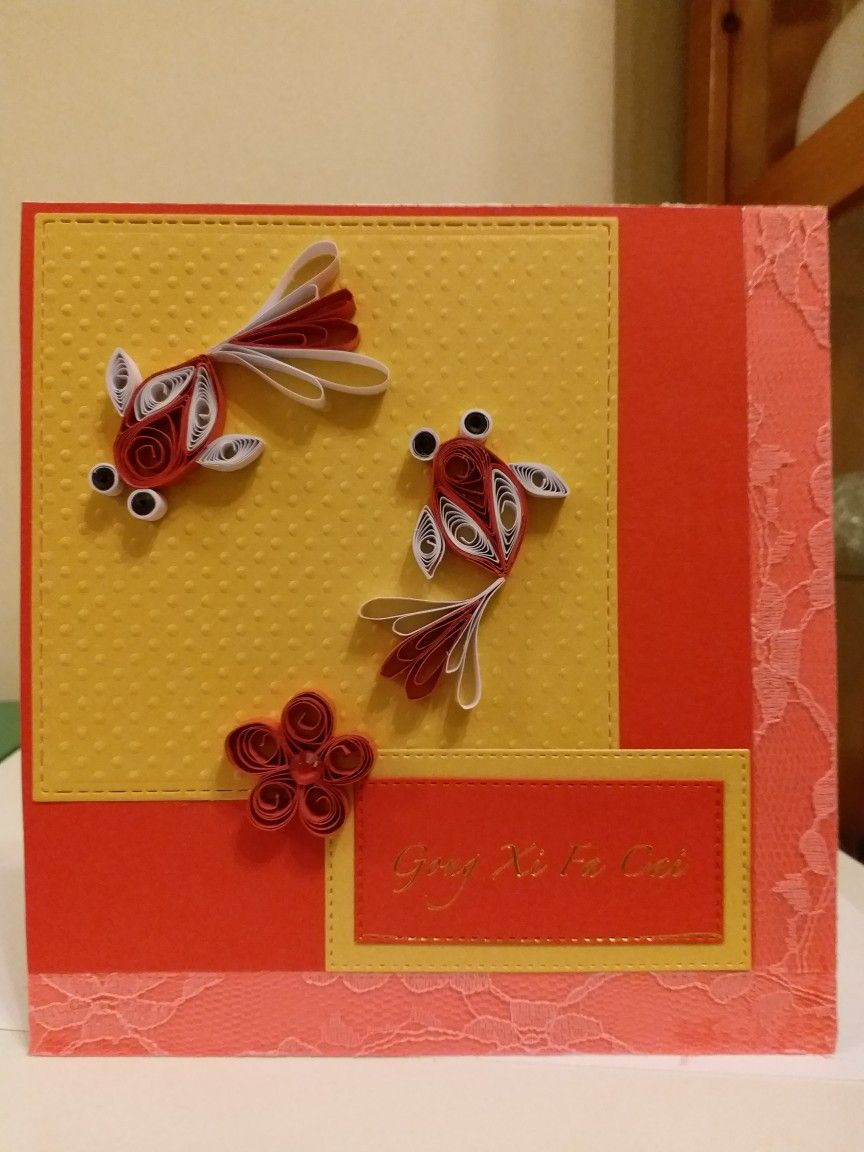 Chinese New Year Card Chinese New Year Card Creative Birthday Cards New Year Card Design