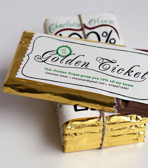 100  raw talent chocolate cv with golden ticket