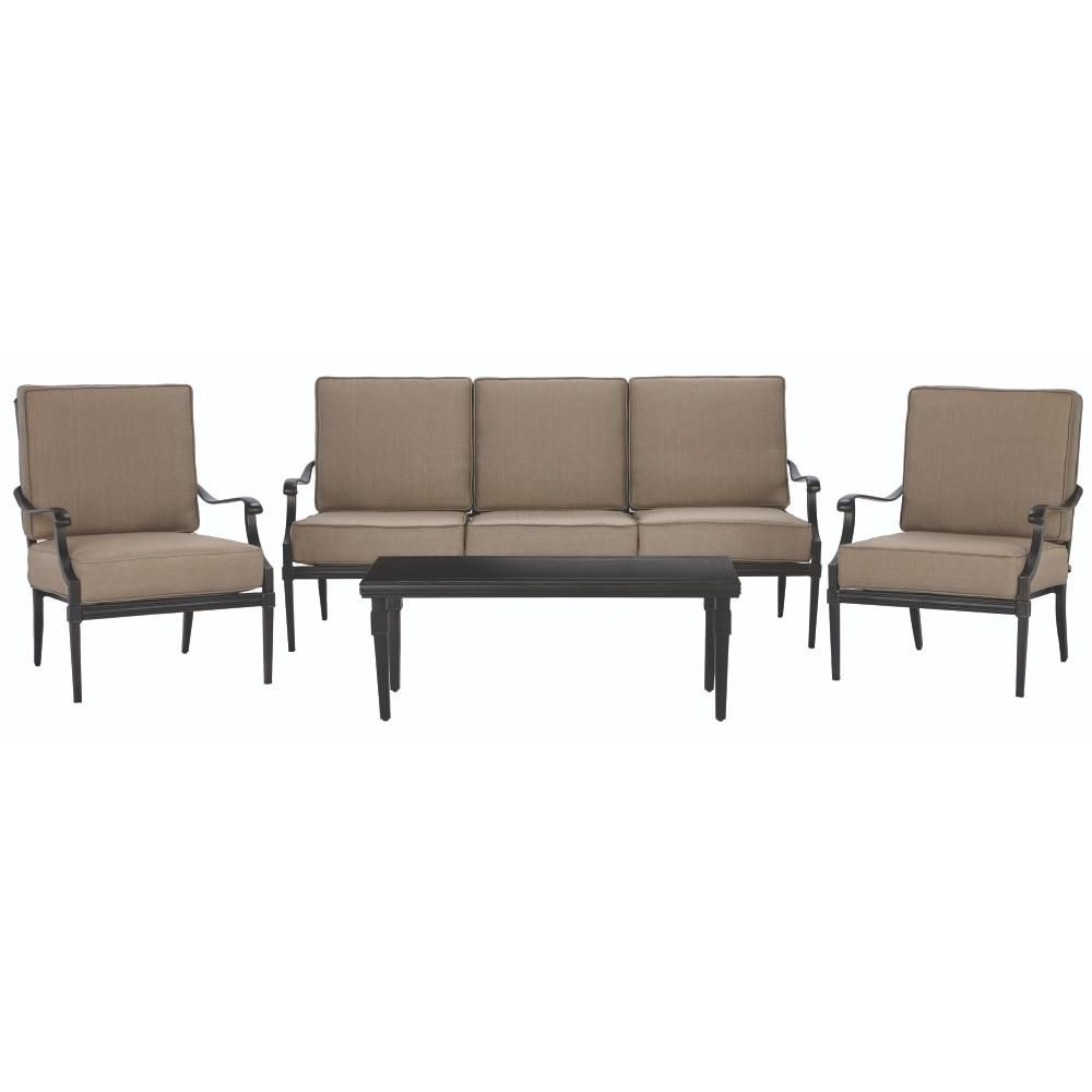 Home Decorators Collection Dunham Manor 4-Piece All-Weathered ...