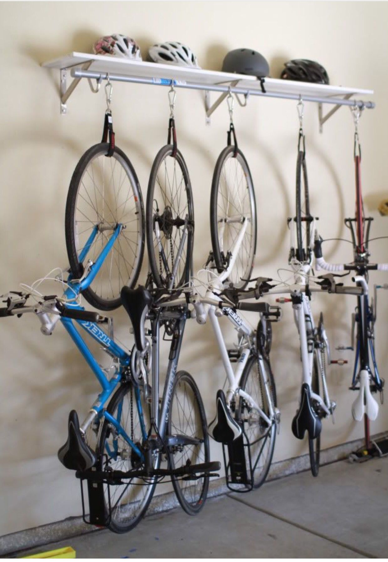 bike storage new house pinterest garage fahrrad und garage ideen. Black Bedroom Furniture Sets. Home Design Ideas
