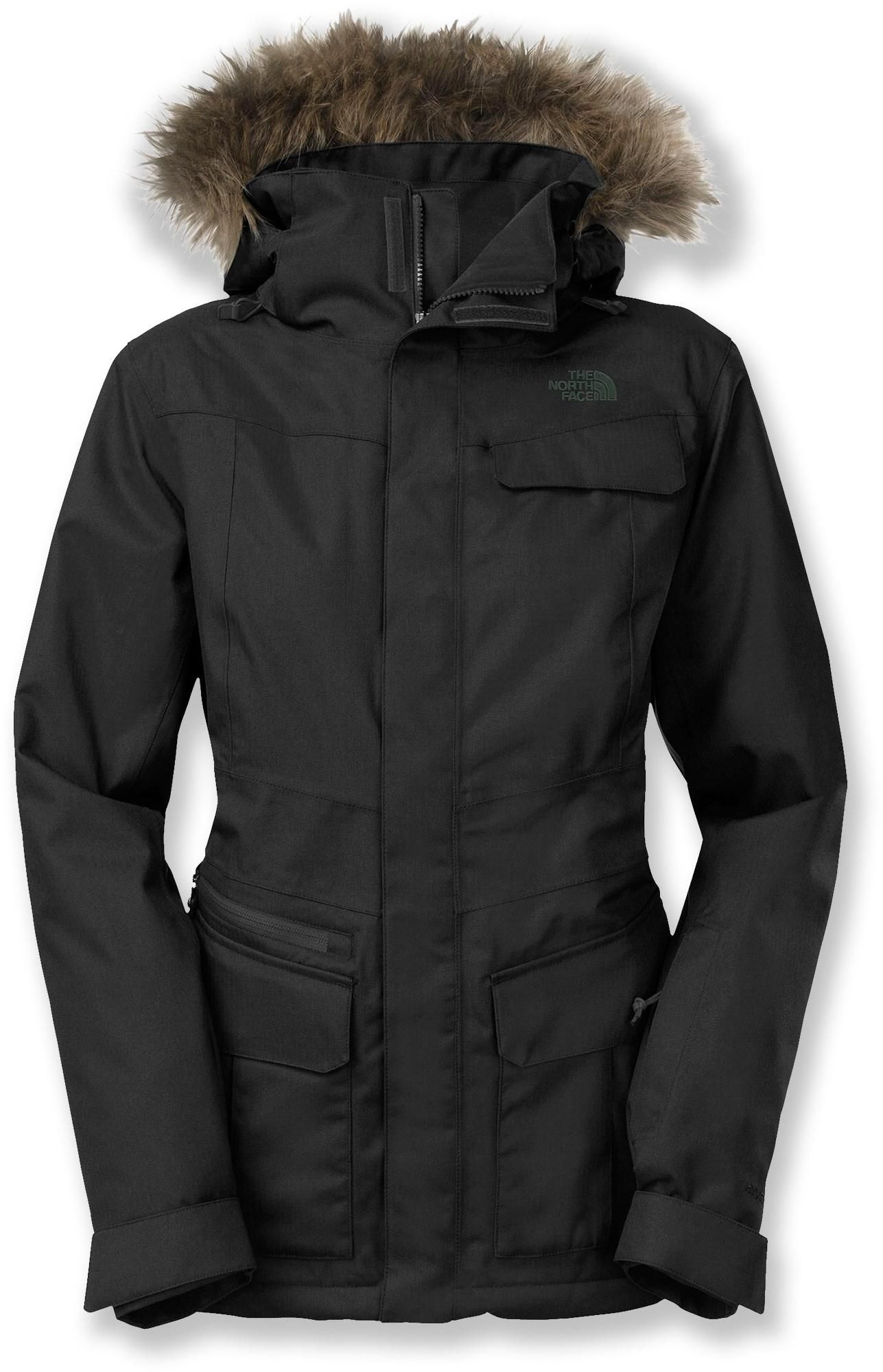 Love this cut and fit! The North Face Baker Delux Insulated Jacket ... c27d0191c