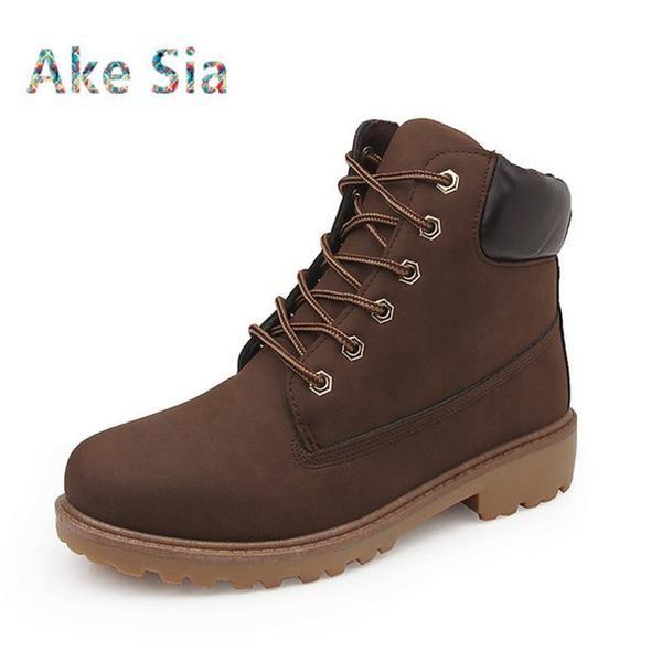 11699d94d42 New Autumn Winter Boots Men fashion Winter Shoes Camouflage Warm ...