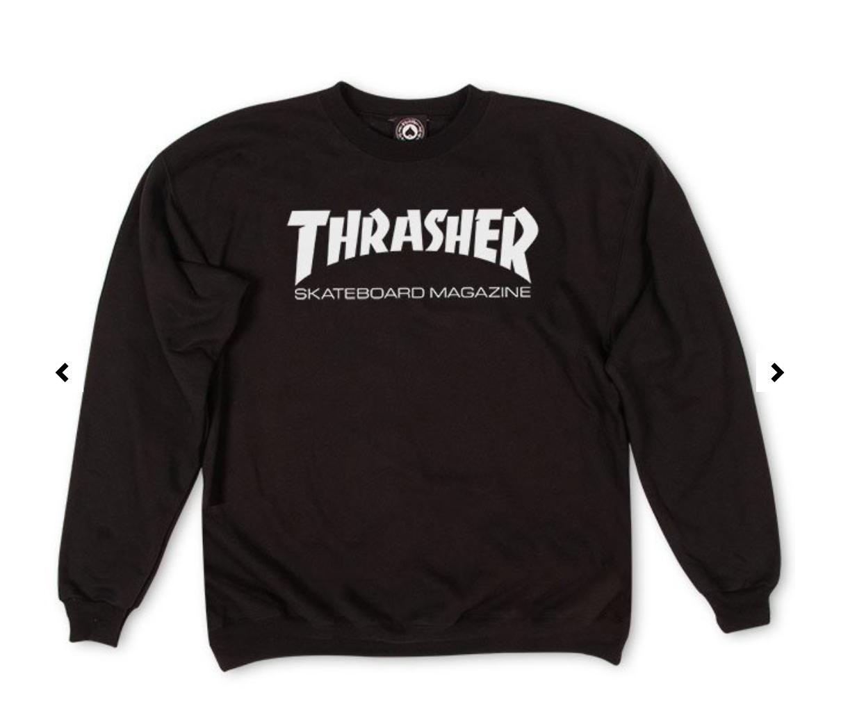 Skate Mag Crewneck Black In 2020 Sweatshirts Crew Neck Sweatshirt Black Sweatshirts [ 1026 x 1210 Pixel ]