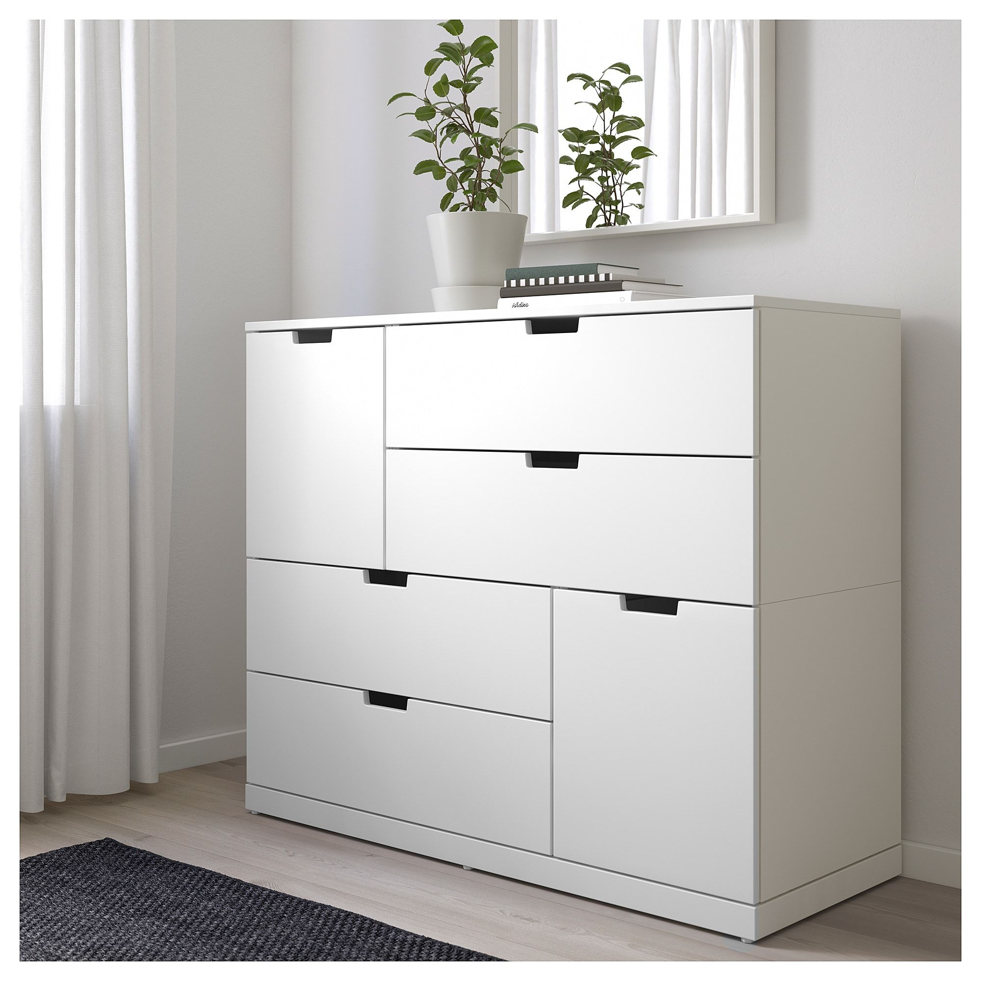 new products 882b9 07381 NORDLI 6-drawer dresser - white | Dresser in 2019 | Drawers ...