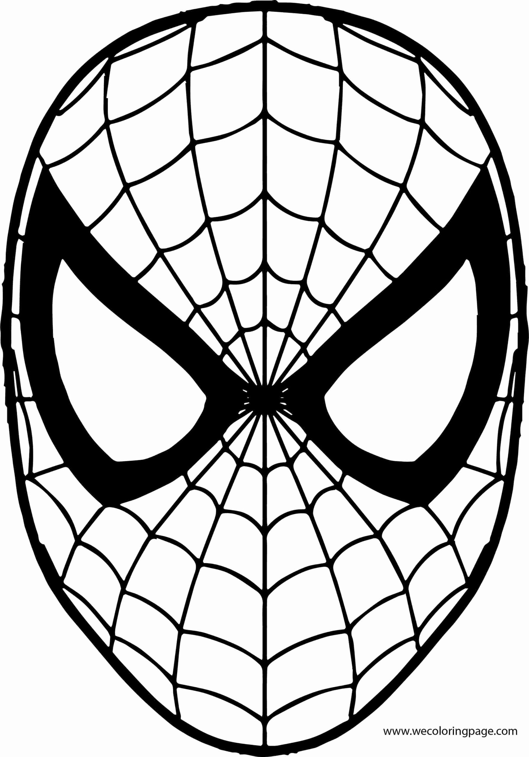 Baby Spiderman Coloring Pages For Kids Spiderman Coloring Spiderman Mask Coloring Mask