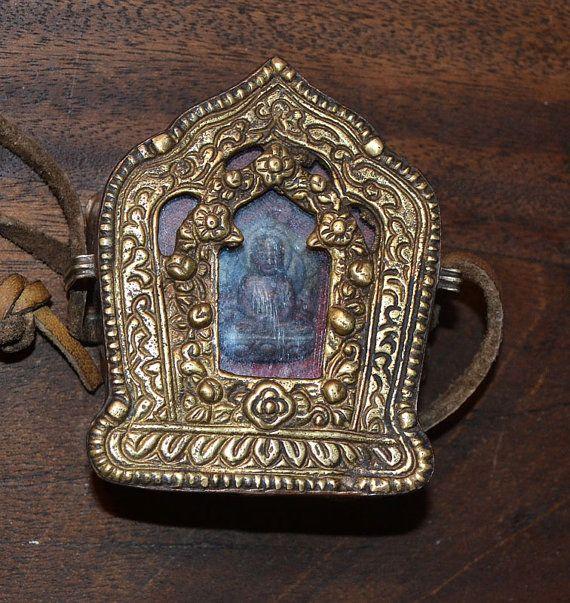 Ghau tibetan prayer box pendant by warmalohas on etsy unique too ghau tibetan prayer box pendant by warmalohas on etsy aloadofball Gallery