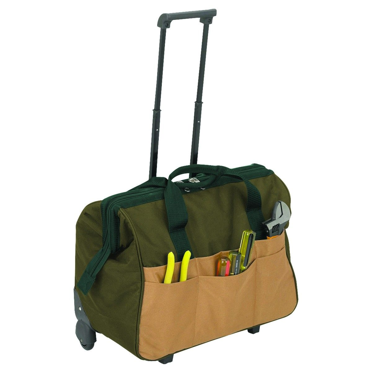 20 In Rolling Tool Bag With Wheels Bags Cool Tools