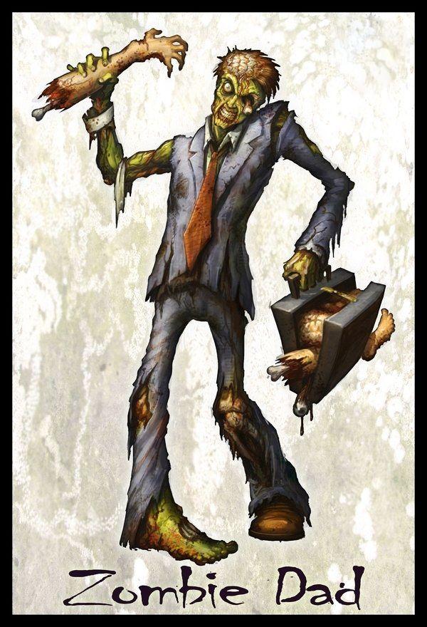 Resultado de imagen para zombie dad