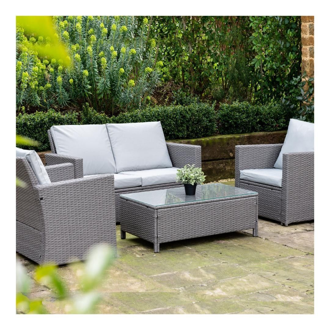 Deal Of The Week Save 129 On This Rattan Garden Furniture Set