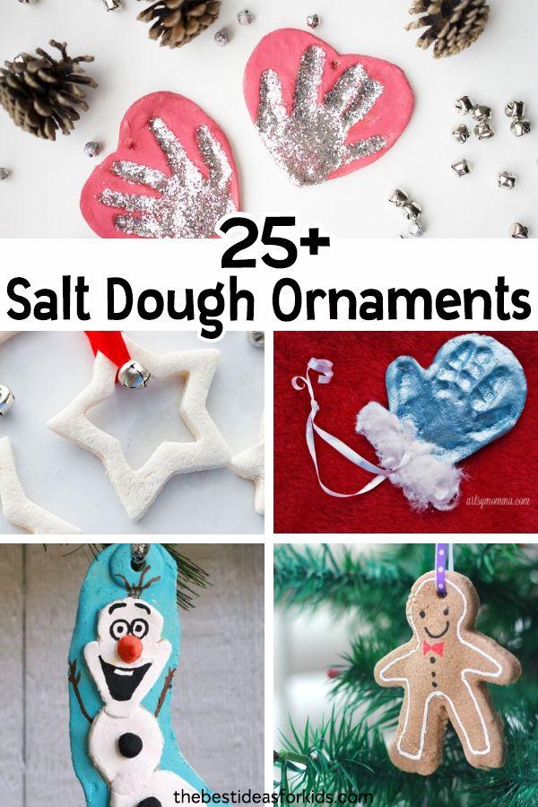 25 Salt Dough Ornaments For Christmas Knutselen Pinterest