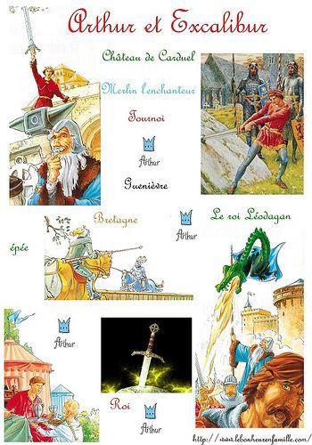 La Legende Du Roi Arthur Roi Arthur Histoire Enfant Roi