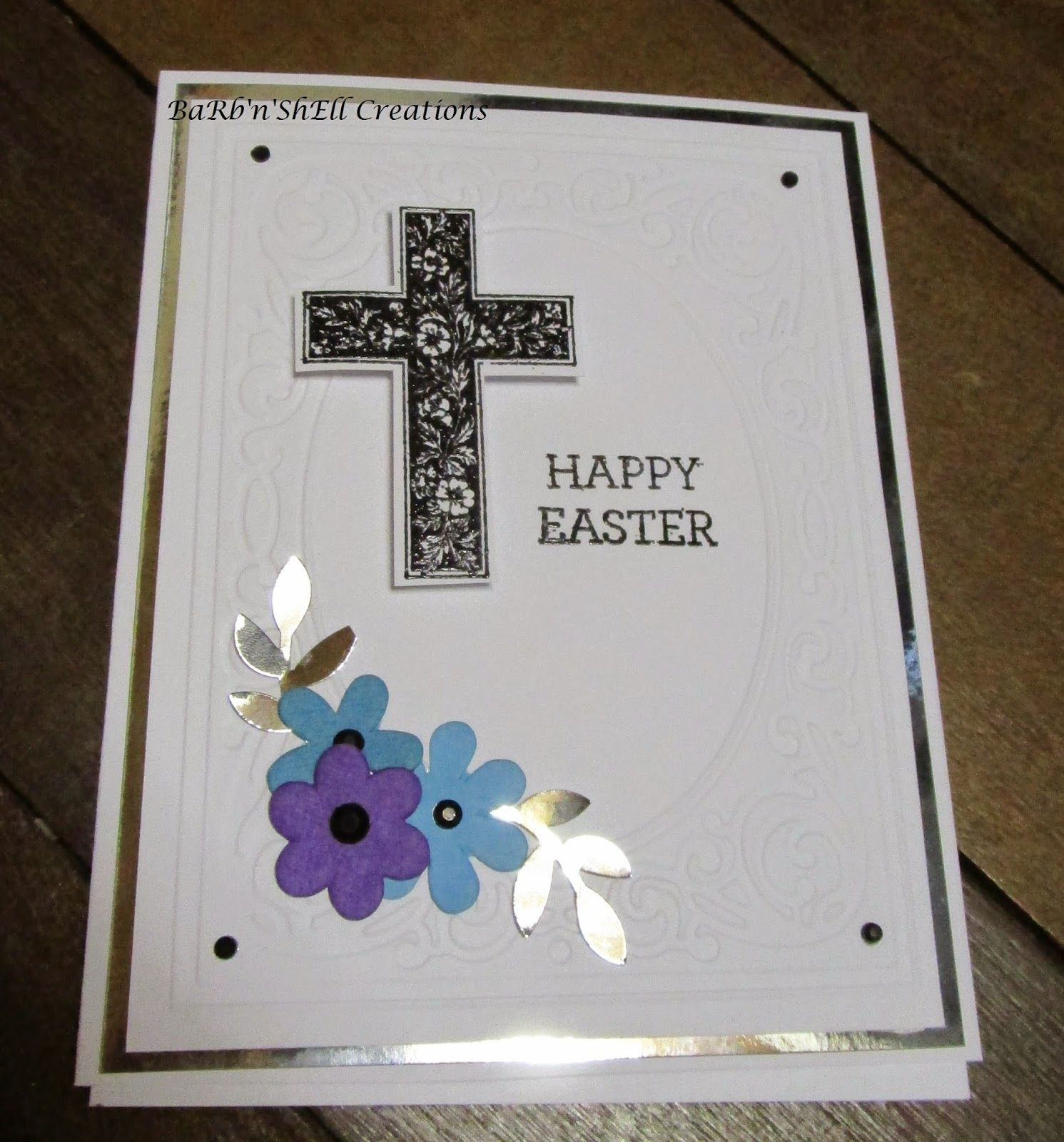 Barbnshellcreations easter cards card making happy