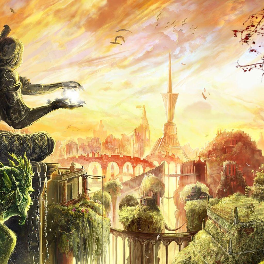 Fairy Tale World Fantasy world, World wallpaper, Fantasy