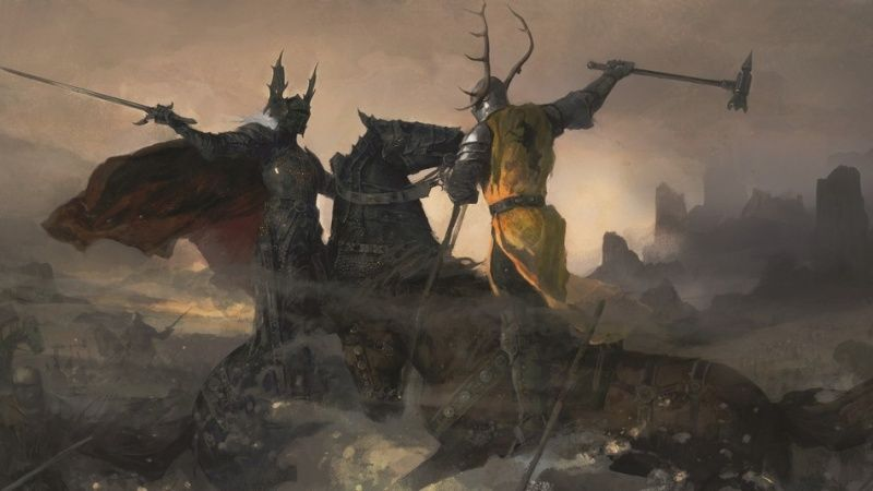 Battle Of The Trident Fire Art Game Of Thrones Art Asoiaf Art