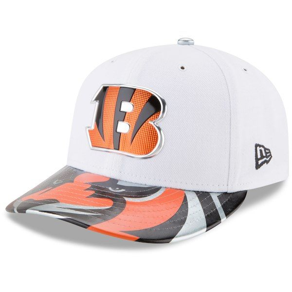 buy online c23eb a7396 Cincinnati Bengals New Era 2017 NFL Draft On Stage Low Profile 59FIFTY  Fitted Hat - White
