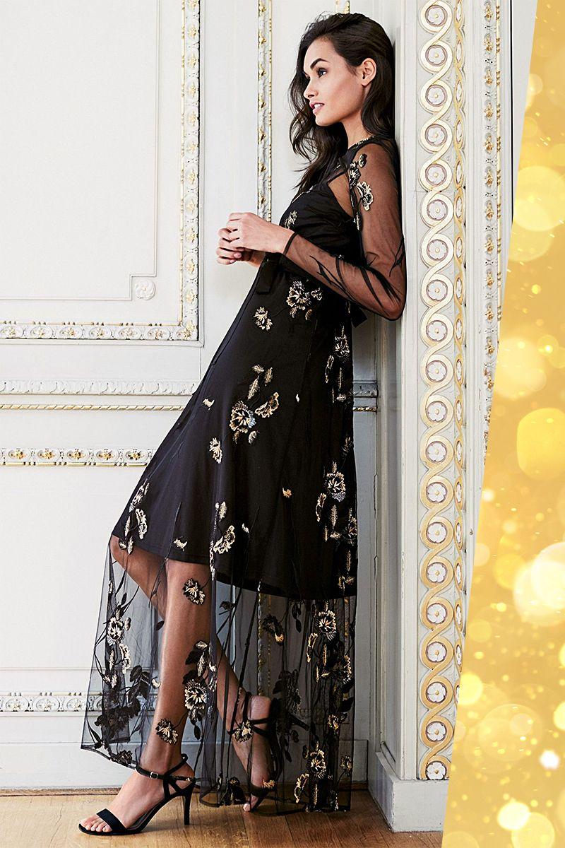 Hier kommt dein Kleid, wenn es zum Jahresende so richtig festlich