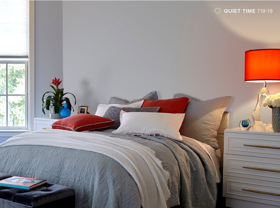 behr color trends 2018 color sample t18 19 quiet time on sample color schemes for interiors id=91934