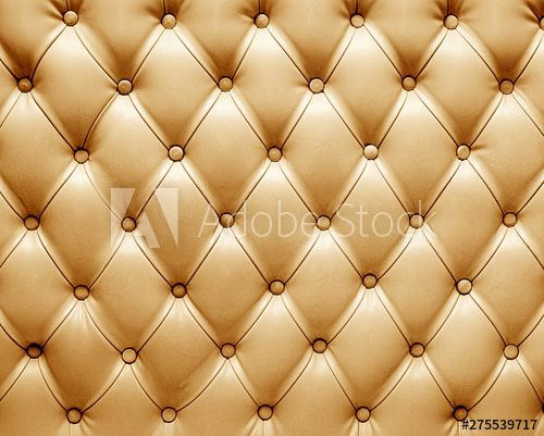 Photo of 3d capitone leather background checkered soft fabric textile coach decoration with buttons