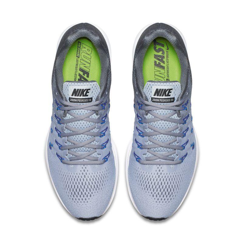size 40 631d4 92f68 Nike Air Zoom Pegasus 33 Mens Running Shoe - Grey