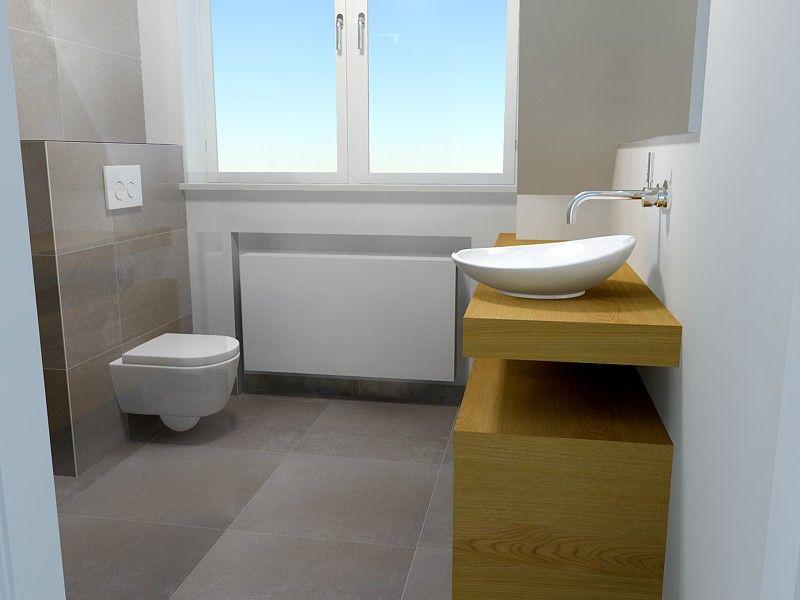 Badkamer vijf vierkante meter, zijaanzicht | Badkamer ideetjes ...