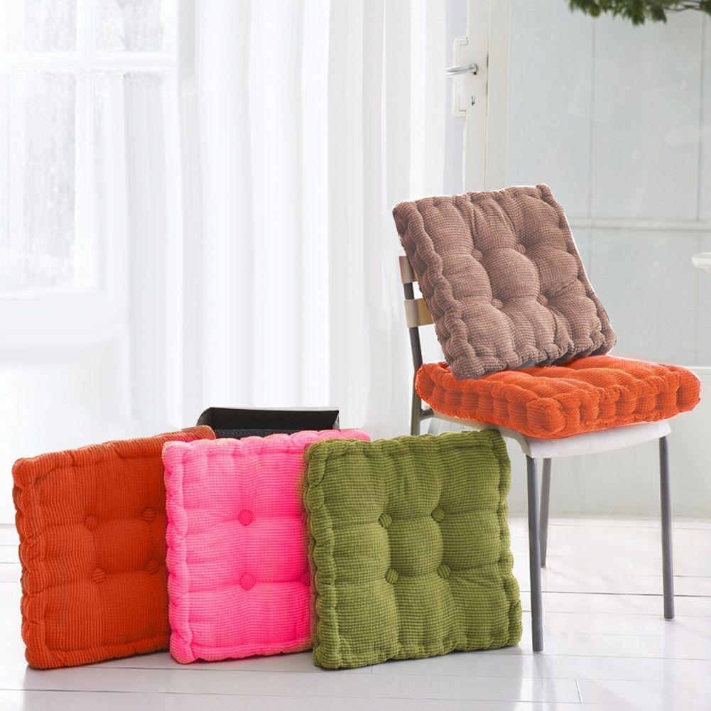 Hot Sale Seat Cushion Thick Corduroy Elastic Seat Cushions