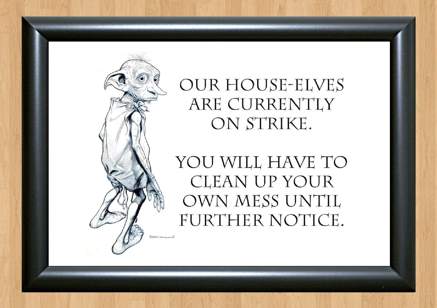 Harry Potter - Dobby - Must Have For All Fans - Poster/Art Print A4 ...