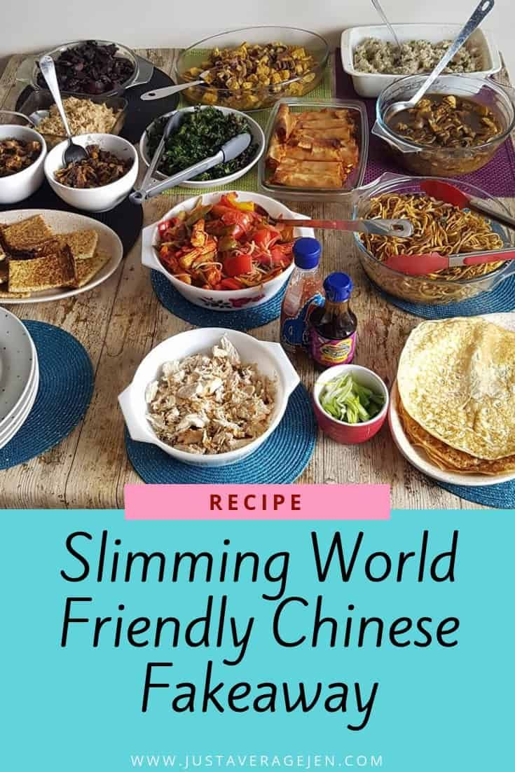 Slimming World friendly Chinese Fakeaway recipes