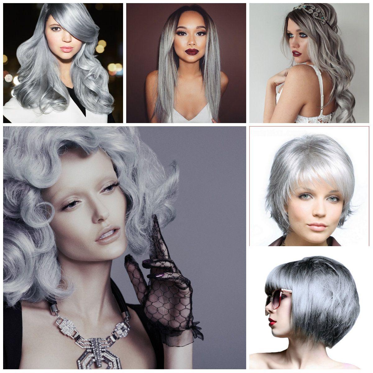 1 bundle 8a granny silver gray ombre brazilian virgin remy hair granny gray silver human hair extensions 261 pmusecretfo Gallery