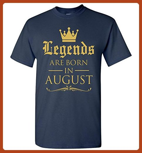 Best Gift For Birthday Legend Are Born In August T Shirt