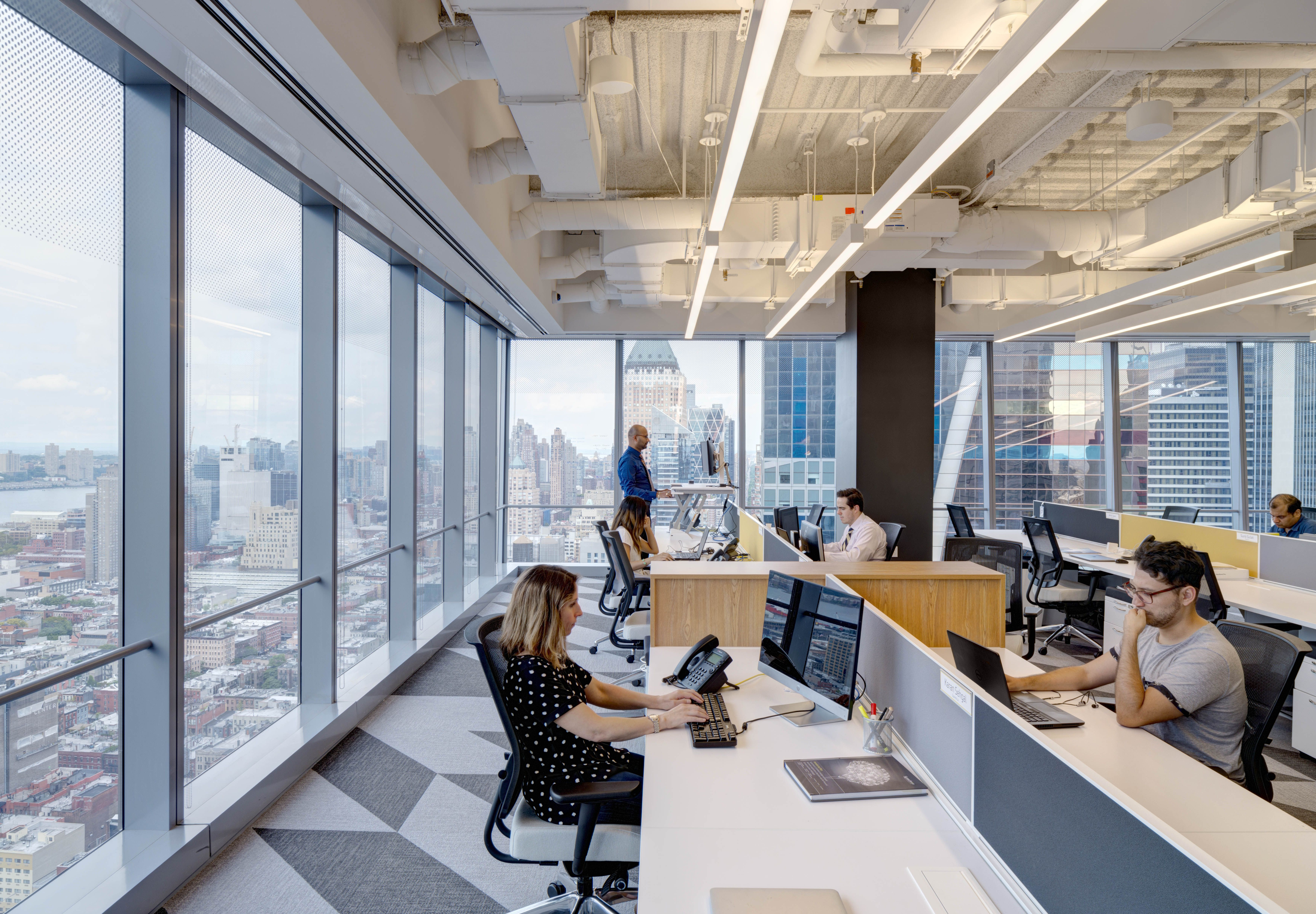 real estate office interior design. Office Interior At Synechron, New York. Real Estate Design