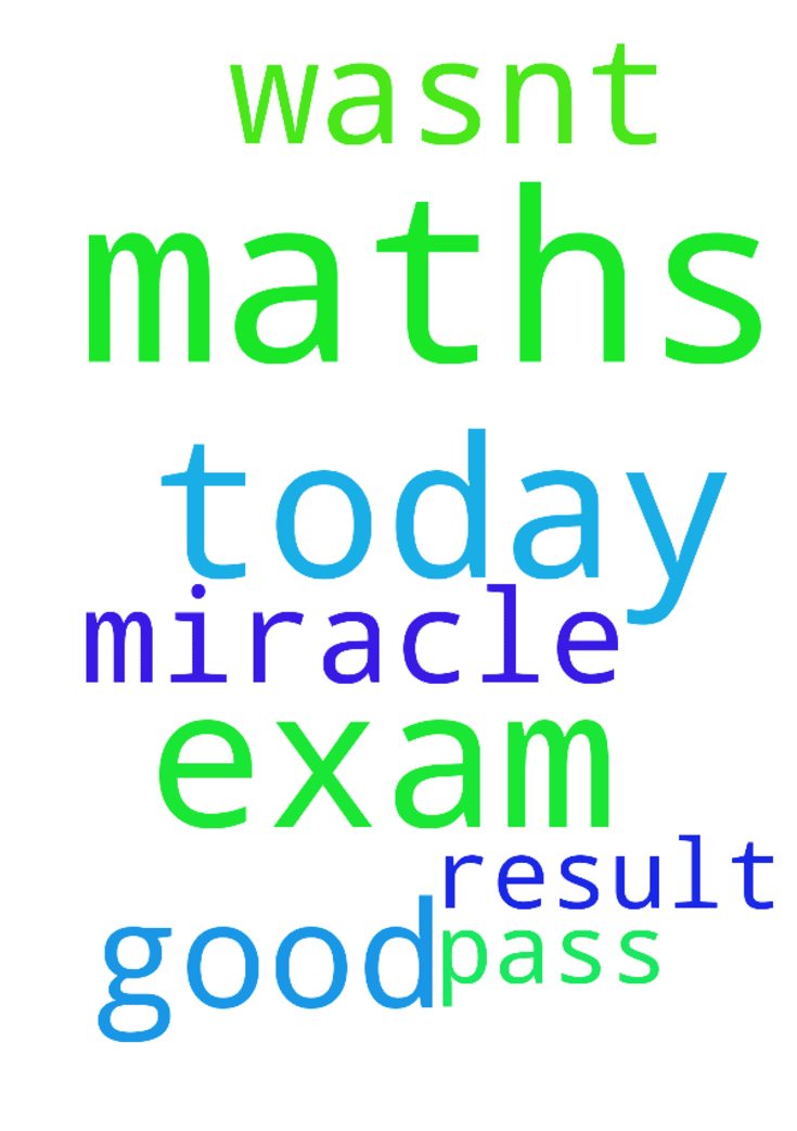 Please pray for me as today was my maths - Please pray for me as today was my maths exam and it wasnt good please pray for miracle result so I will pass in my maths exam Posted at: https://prayerrequest.com/t/AKK #pray #prayer #request #prayerrequest