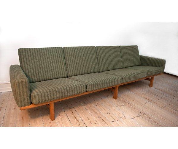 Sofa, uld, 4 pers. , Hans J. Wegner, 4-personers sofa af