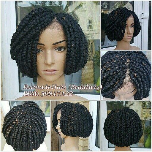 Mushroom Box Braids Bob Braids Box Braids Styling Wigs
