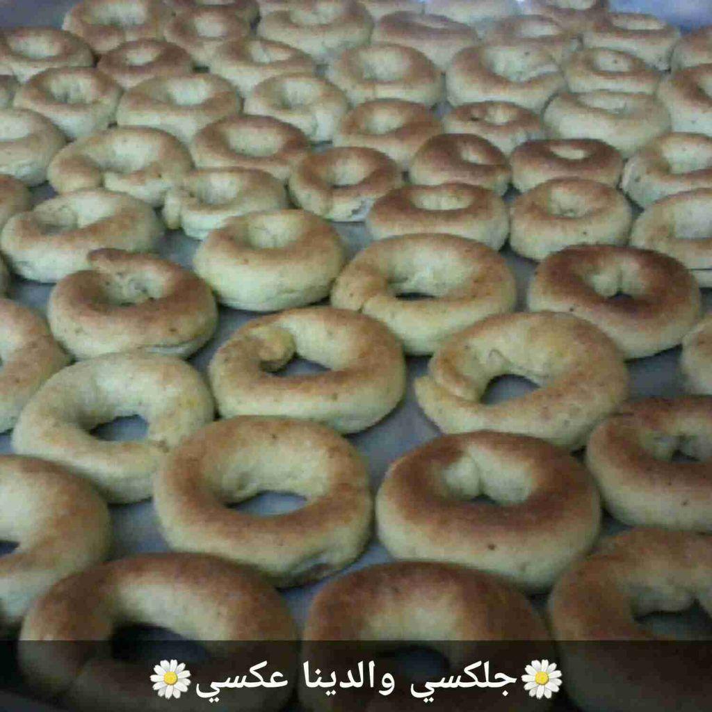 طريقة عمل كعك العيد بالطحين الفلسطيني زاكي Arabic Sweets Bread Food