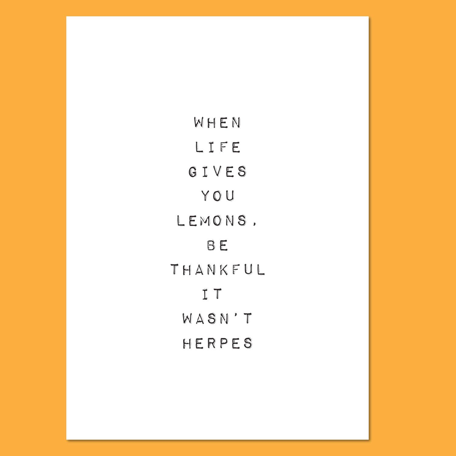 Life and lemons funny handmade greeting card get well feel better life and lemons funny handmade greeting card get well feel better sympathy by crystoo on etsy m4hsunfo