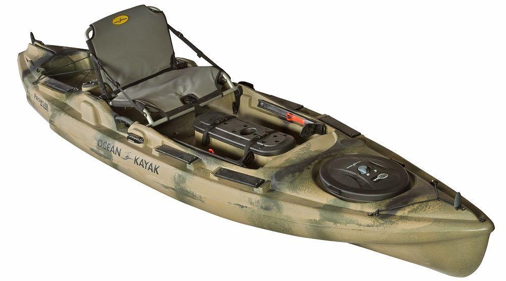 Ocean kayak prowler big game ii fishing kayak camo 2014 for Ocean kayak fishing