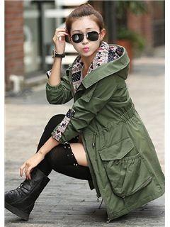 Korean Style New Fashion Slim Cotton Trench Coats